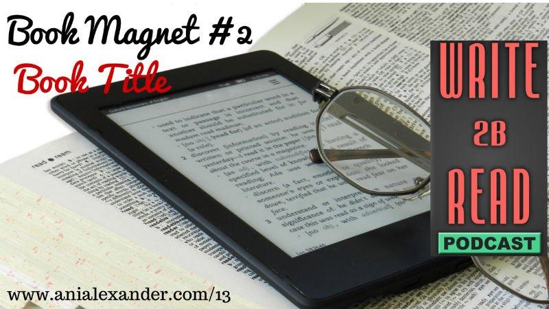 Book Magnet #2 – Book Title