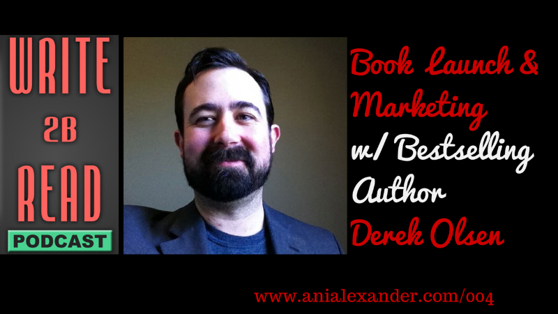 Book Launch & Marketing with @DerekCOlsen