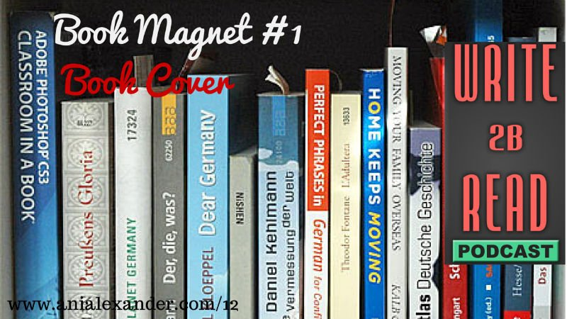 Book Magnet #1 – Book Cover