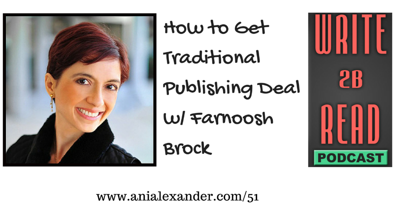 How to Get Traditional Publishing Deal w/ @prolificliving