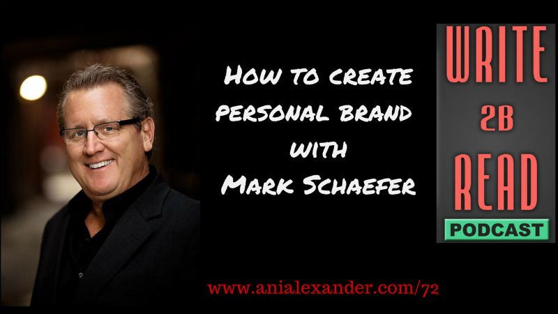 How to Create Personal Brand @markwschaefer