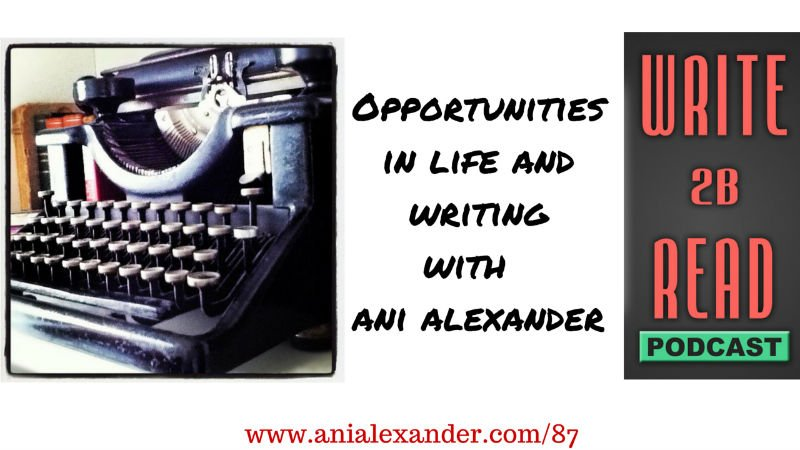 Opportunities in Life and Writing