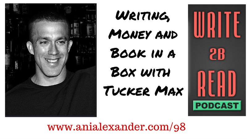 Writing, Money and Book in a Box with @TuckerMax