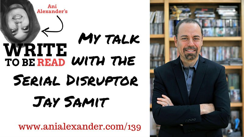 My Talk with the Serial Disruptor @jaysamit