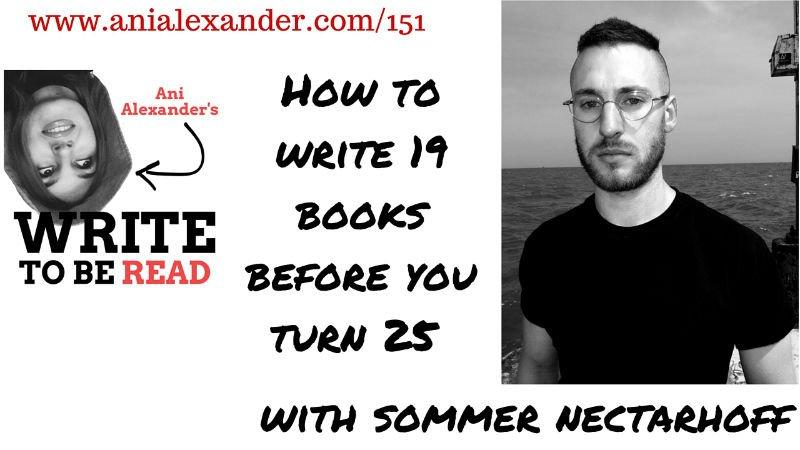 How to Write 19 Books Before You Turn 25