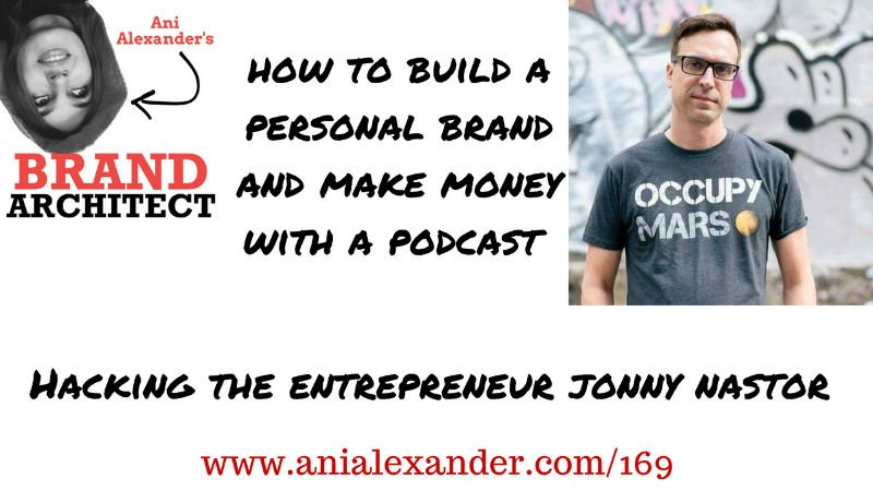 How to Build a Personal Brand and Make Money With a Podcast with @jonnastor