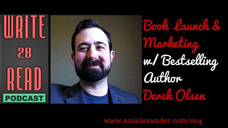 Book Launch & Marketing with @DerekCOlsen