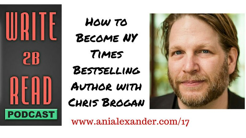 How to Become NY Times Bestselling Author w/ @chrisbrogan