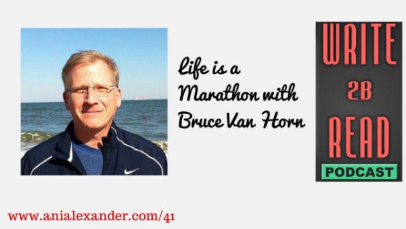 Writing is a Marathon w/ @BruceVH