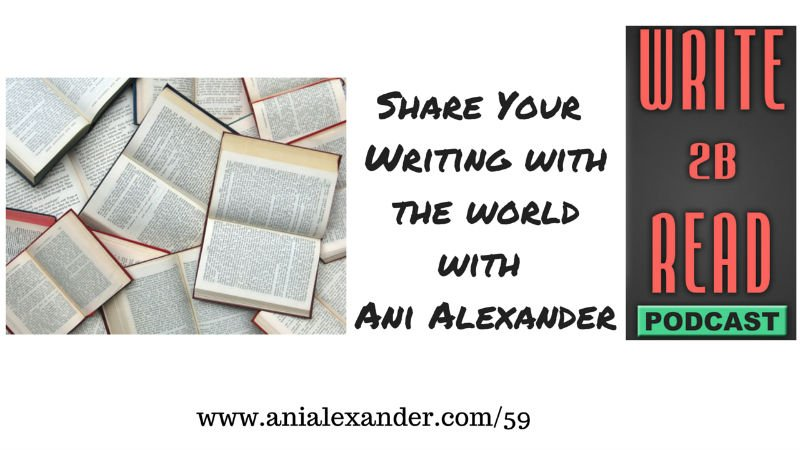 Share your writings with the world