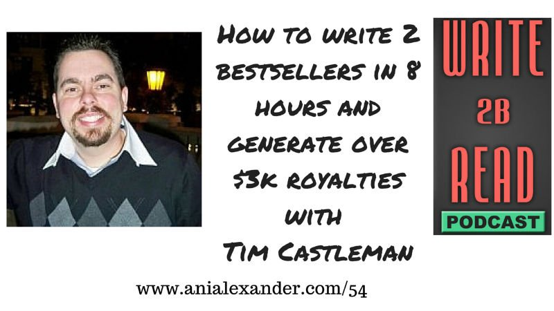 How to Write 2 Bestsellers in 8 Hours & Generate Over $3k