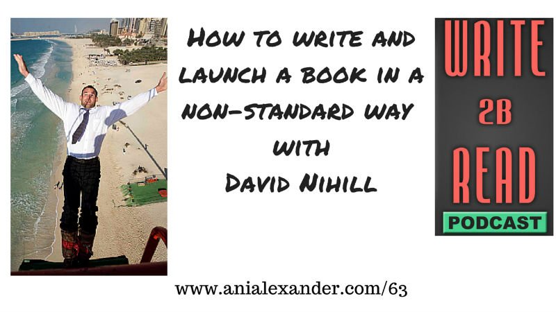 How to Write and Launch a Book in a Non-Standard Way