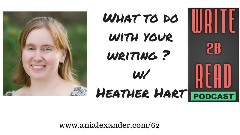 What to Do with Your Writing w/ Heather Hart