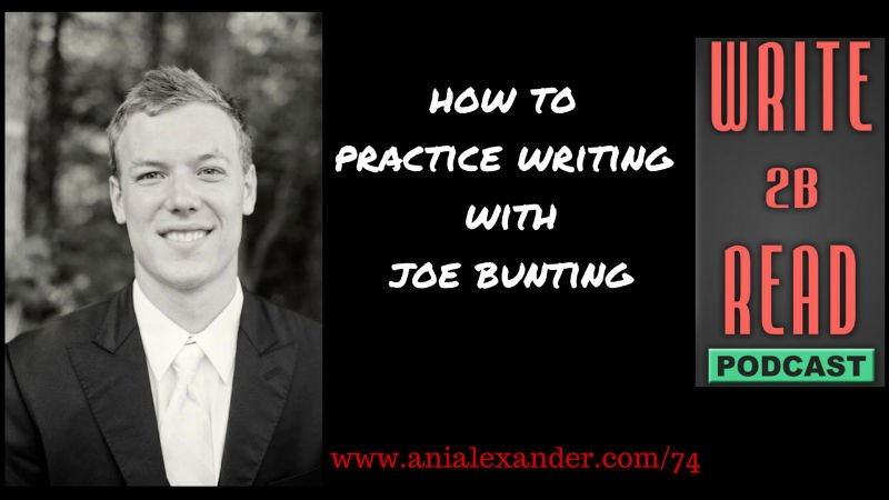 How to Practice Writing with @joebunting