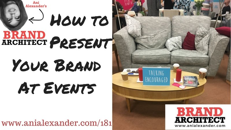 How to Present Your Brand at Events