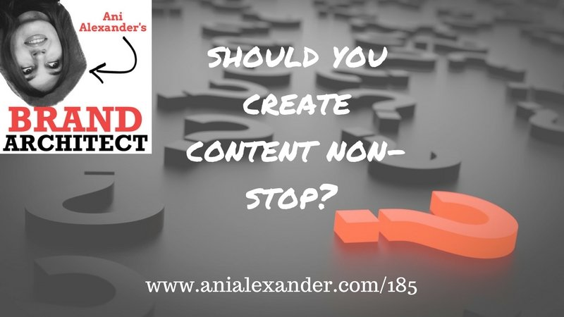 Should You Create Content Non-Stop